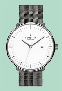 NORDGREEN PHILOSOPHER GUN METAL