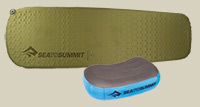 SEA TO SUMMIT SCHLAFSYSTEM CAMP MAT & AEROS PILLOW
