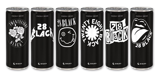 28 BLACK – Der Energy Drink