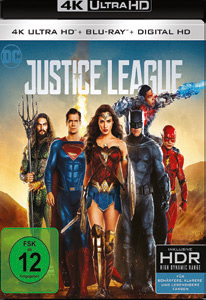 JUSTICE LEAGUE - Ultra HD Blu-ray