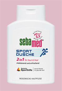 SEBAMED Sport Dusche 2 in 1